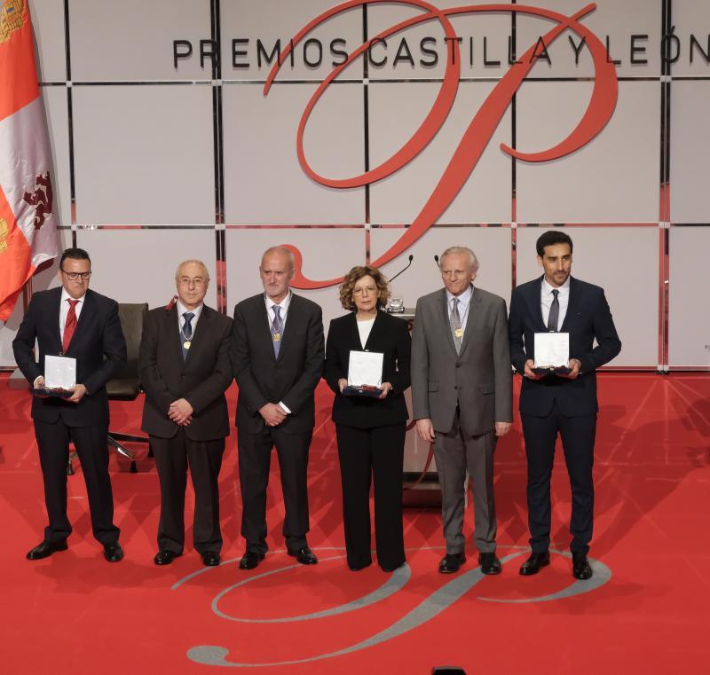 Discurso de agradecimiento de los Premios Castilla y León 2018, por José Luis Puerto