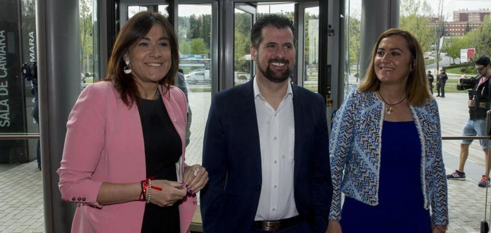 Los candidatos a la Junta de PSOE, Cs y Podemos coinciden en que el PP «ya es historia» en Castilla y León