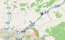 La vuelta a casa deja retenciones entre Burgos y Quintanavides