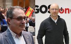 Ángel Martín e Iñaki Sicilia, cabezas de lista de Vox al Ayuntamiento de Burgos y a las Cortes