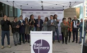 Podemos presenta una lista «solvente y clara» para superar el «desgobierno del PP» en el Ayuntamiento de Burgos