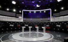 Señal televisiva del debate