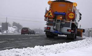 El Gobierno activa la alerta por nieve en toda Castilla y León, excepto Valladolid