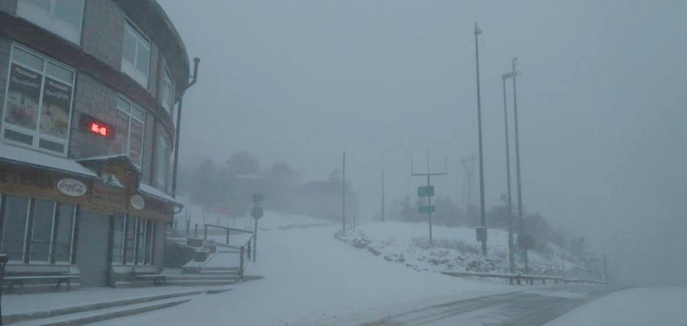 La cota de nieve desciende hasta los 900 metros en muchos puntos de Castilla y León