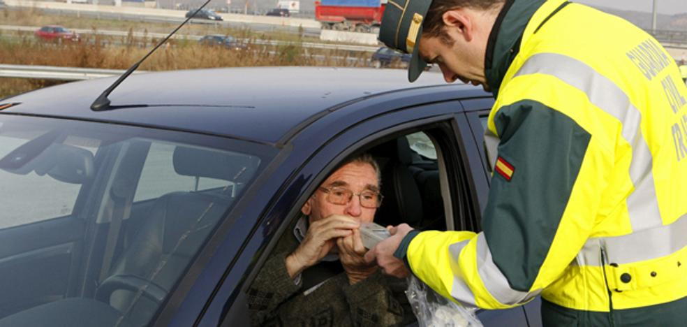 16 positivos por alcohol y 4 por drogas durante el fin de semana en las carreteras de Burgos
