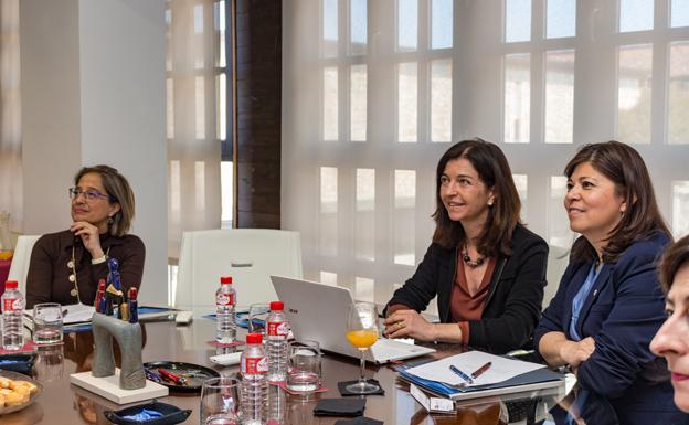 Una delegación de la Universidad de San Antonio (EE UU) visita la UBU