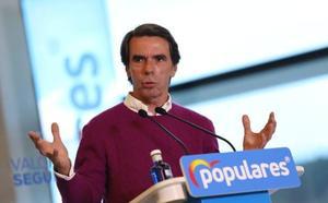 Aznar apela a la unidad del voto de la derecha para garantizar «el rumbo histórico de España»