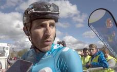 Barbero, descalificado tras imponerse en la primera etapa de la Vuelta a Castilla y León