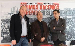 CCOO tiene preparado su «catálogo de reivindicaciones» para el Primero de Mayo