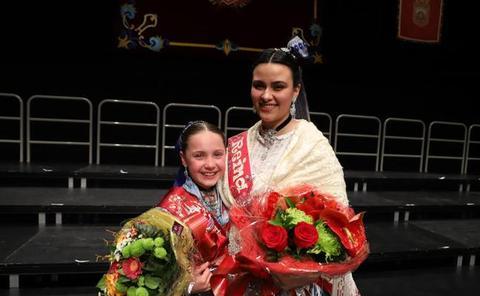Alicia Santamaría y Elena González, reinas de las fiestas de San Pedro y San Pablo