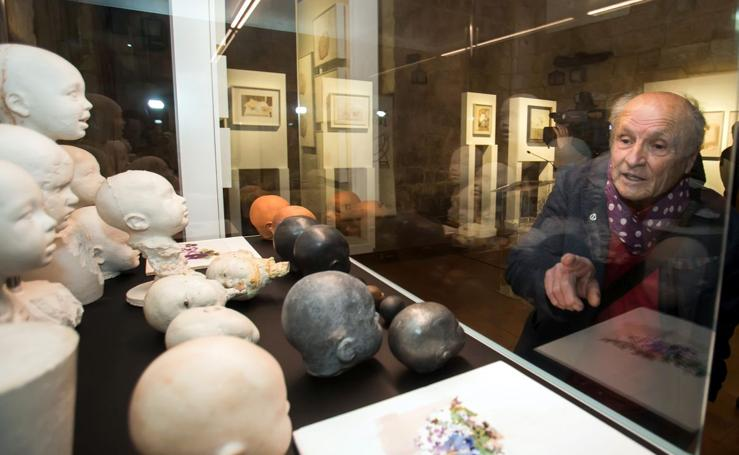 Inauguración de la exposición de Antonio López dentro del programa cultural de Las Edades del Hombre
