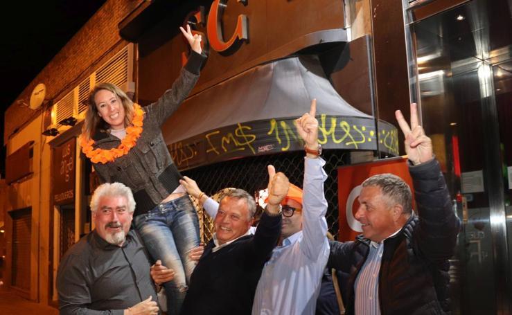 Ciudadanos celebra la obtención de un diputado en Burgos
