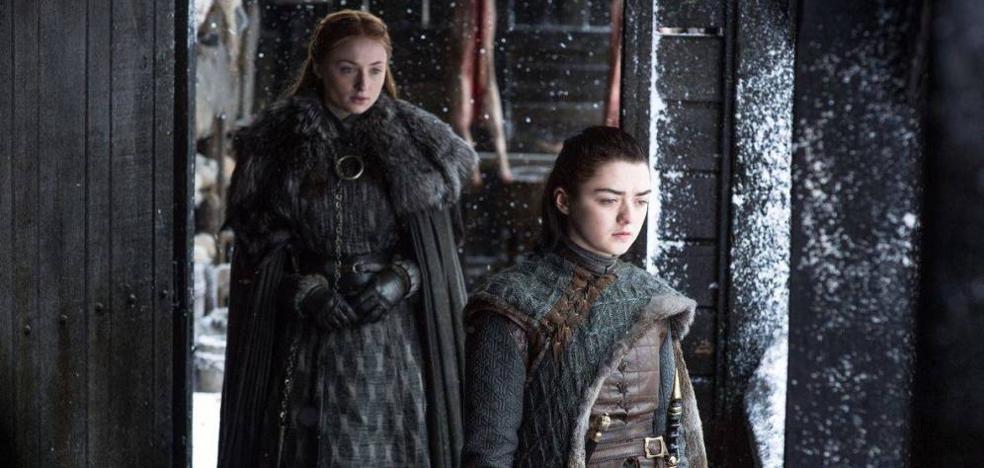 Sophie Turner y Maisie Williams, las hermanas Stark que «ahora son mujeres fuertes»