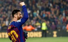 El Govern catalán concede la cruz de Sant Jordi a Leo Messi