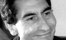 Manuel Arandilla, protagonista de los marcapáginas que reparte la Asociación de Libreros de Burgos