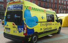 Un herido en una salida de vía en la A-1 en Fuentespina