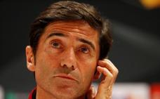 Marcelino: «La referencia que tenemos del Arsenal es que eliminó al Nápoles»
