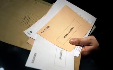 El voto CERA en Burgos confirma dos diputados para PSOE, uno para PP y uno para Cs