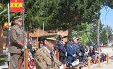 La base de Castrillo del Val recuerda el 'Dos de Mayo' de 1808 con un acto militar