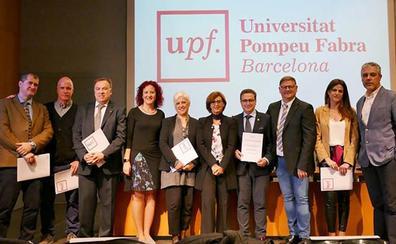 La Universidad de Burgos, premiada por la prevención de riesgos laborales