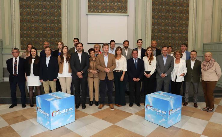 Candidatura del PP al Ayuntamiento de Burgos