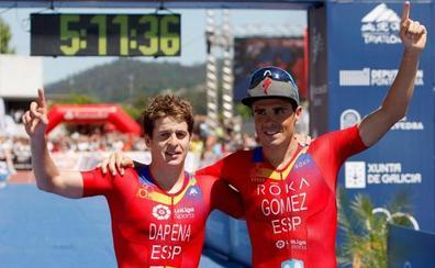 Gómez Noya, campeón del mundo de larga distancia