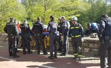 Rescatan con hipotermia a una mujer del río Arlanzón en Burgos