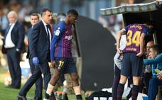 Dembélé, una carta menos para Valverde en Anfield