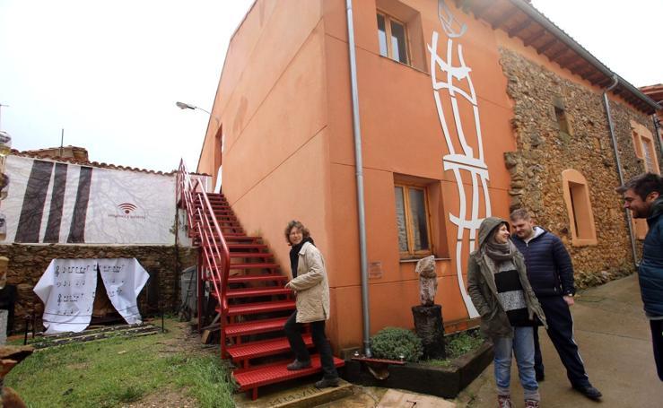 Albergue para artistas El Descanso del Hacedor en la localidad burgalesa de Aldea del Portillo de Busto