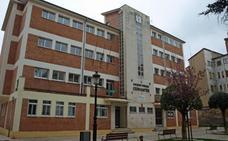 Prosiguen las obras de rehabilitación del antiguo colegio Cervantes en Miranda