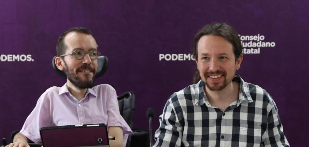 Iglesias ofrece a Sánchez una coalición «claramente» liderada por el PSOE