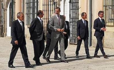 El rey Felipe VI habla en La Granja de un «cambio de era» ligado a la cuarta revolución industrial