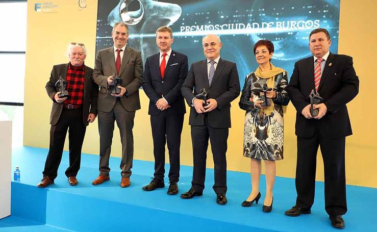 Importante representación en los VIII Premios Ciudad de Burgos