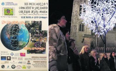 Mercadillo y concierto solidario, en el colegio Jesús-María de Burgos este domingo
