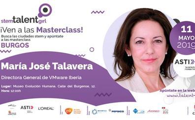 María José Talavera impartirá este sábado la séptima masterclass de STEM Talent Girl en Burgos