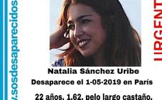 La Policía encontró «desorientada» a Natalia Sánchez en una calle de París