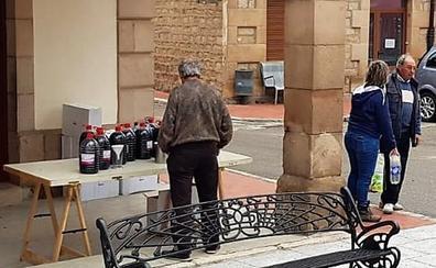 En Palacios de la Sierra se paga con vino