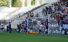 LAs mejores imágenes del encuentro entre Burgos CF y Celta B