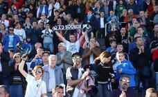 La afición se ha volcado con el Burgos CF