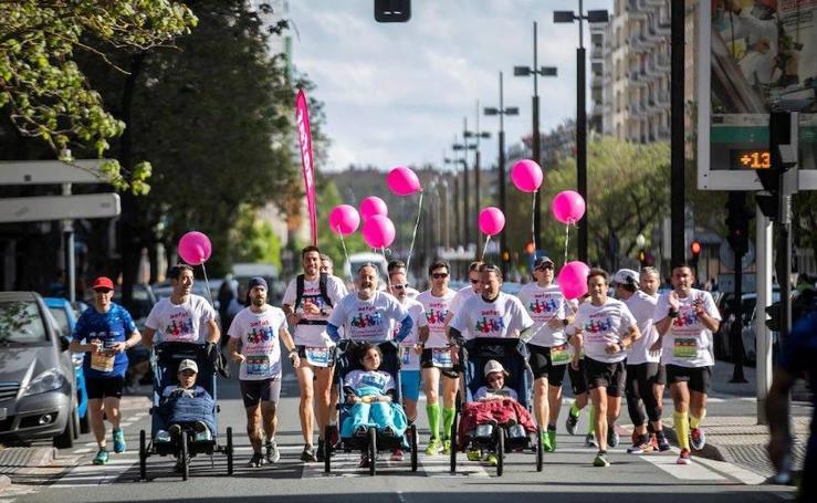 Imágenes de la Maratón Vitoria-Gasteiz