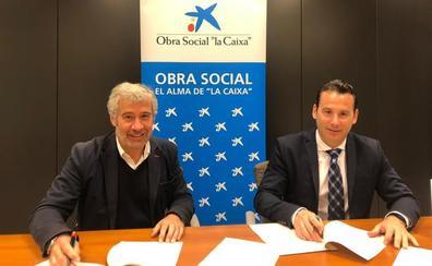 Obra Social la Caixa y Cáritas Burgos firman el Fondo de Contingencia para atender las necesidades básicas de personas en exclusión social
