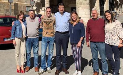 Ibáñez defiende que el condado de Treviño es territorio burgalés por lo que «no existe debate»