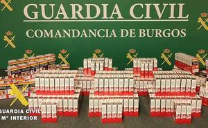 Descubren 363 cajetillas de tabaco ilegal en un estanco de La Bureba