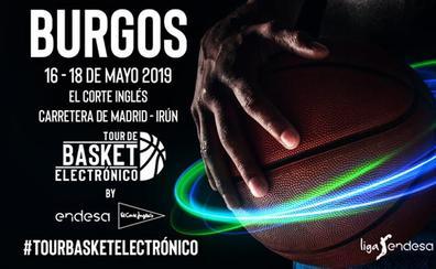 El 'Tour de Basket Electrónico' hace parada en Burgos del 16 al 18 de mayo