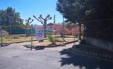 Comienzan las obras de acondicionamiento del parque Bayas en Miranda de Ebro