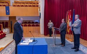 El Aula Magna acoge la toma de posesión de los decanos reelegidos de Educación y Humanidades y Comunicación