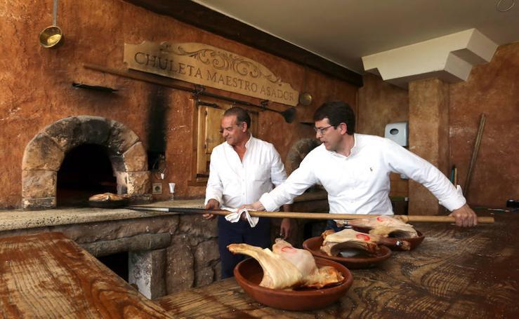 El candidato del PP a presidir la Junta de Castilla y León visita la provincia