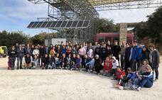 55 estudiantes participan en la jornada de educación y convivencia 'Limpiemos la sierra'