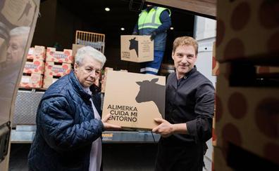 La Fundación Alimerka donó alimentos por un valor superior a los 109.000 euros en 2018 a tres entidades sociales burgalesas