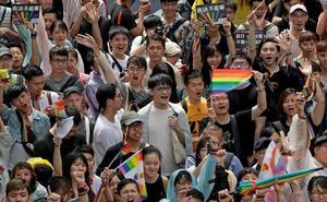 Taiwán se convierte en el primer país de Asia en abrirse al matrimonio homosexual